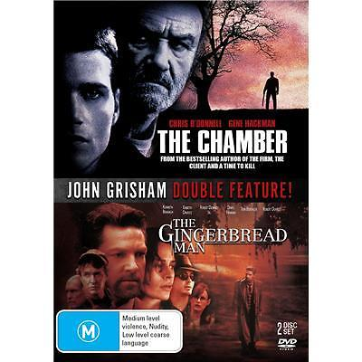 GINGERBREAD MAN / THE CHAMBER John Grimsham Double Feature