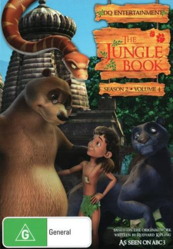 THE JUNGLE BOOK - SEASON 2 VOL 4 DVD