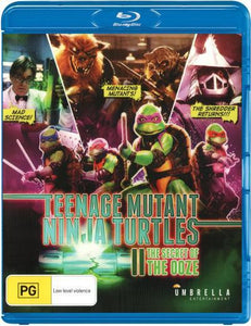 Teenage Mutant Ninja Turtles 2 Secret of the Ooze Blu-Ray
