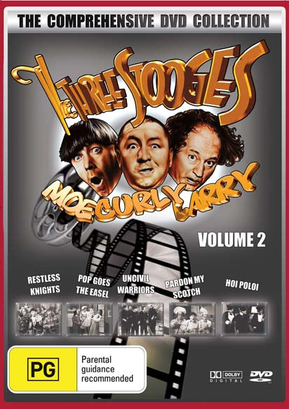 THE THREE STOOGES COLLECTION VOLUME 2