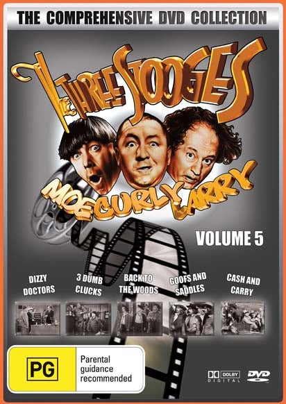 THE THREE STOOGES COLLECTION VOLUME 5