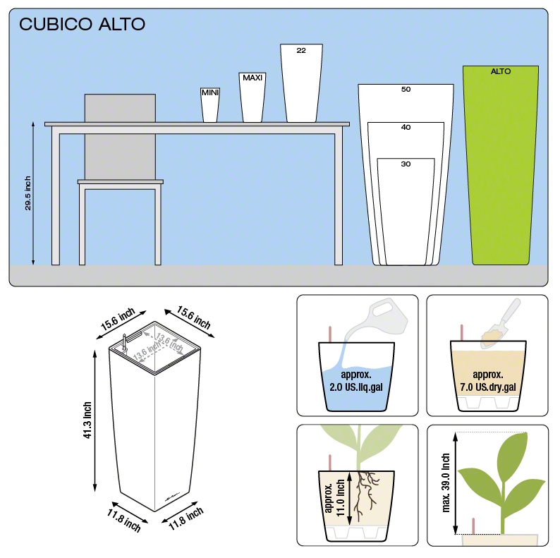CUBICO All-In-One Set