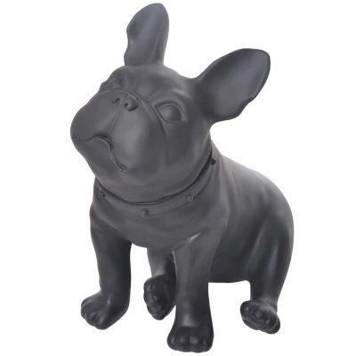 French Bulldog Sitting - Black