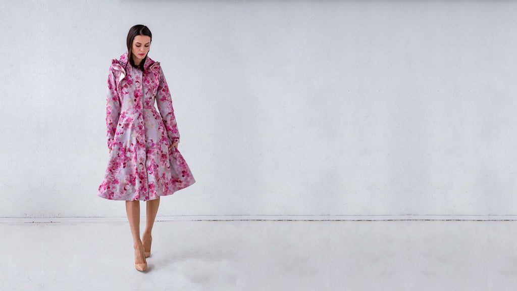 RainSisters design coat: Pink coat