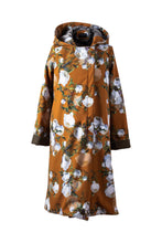 Mustard Peony | Mustard Yellow Women's Robe Coat