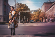 Mustard Peony | Mustard Yellow Oversized Women's Coat