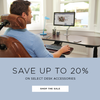 Save up to 20% on Select Desk Accessories