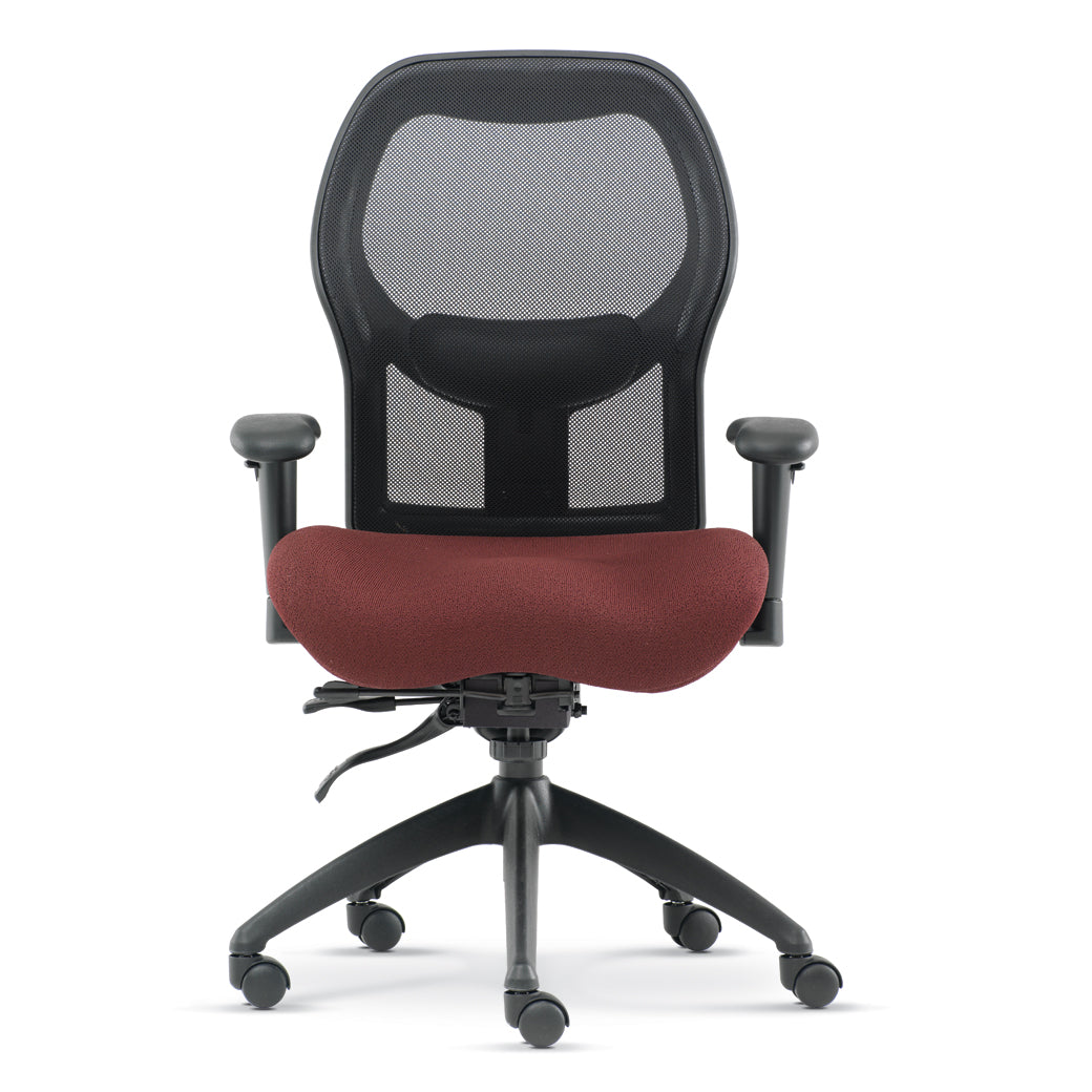 Standalone product image of the brezza ergonomic mesh back office chair