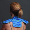 Back view of women using the  ProtoCold Reusable Cold Therapy Pads