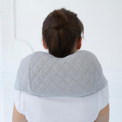 JohnsonWellness Quzy Neck Massager Neck Back View
