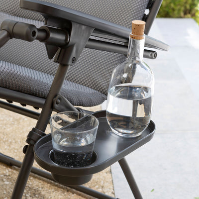 Lafuma cup holder with water cup