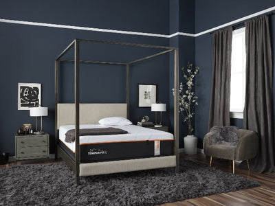 Tempur pedic luxe adapt mattress in modern style bedroom