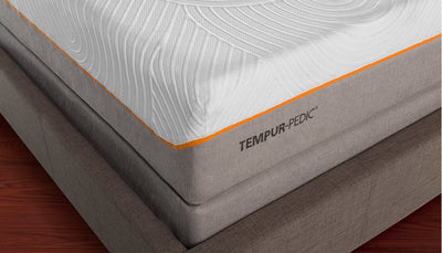 TEMPUR-Contour Elite Breeze close up view of mattress