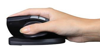 image of mouse with hand in use