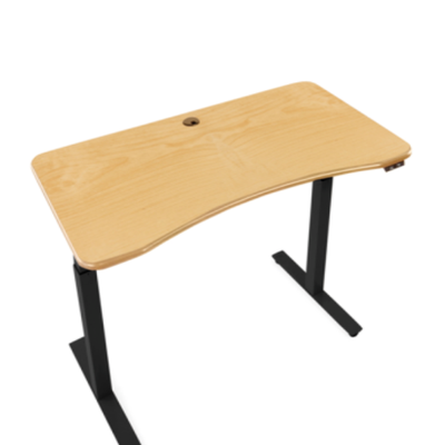 Relax the Back Front View Product image of the Adapt Jr. Adjustable Standing Desk Cherry