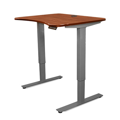 Relax the Back Front View Product image of theMahogany Adapt Jr. Adjustable Standing Desk