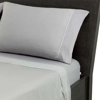 Hyper-Cotton Quick Dry Performance Sheets in steel gray