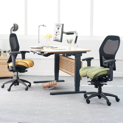 Brezza Ergonomic Mesh Office Chair in office environment