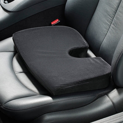 Top view product image of the ContourSit Car Cushion in a car seat