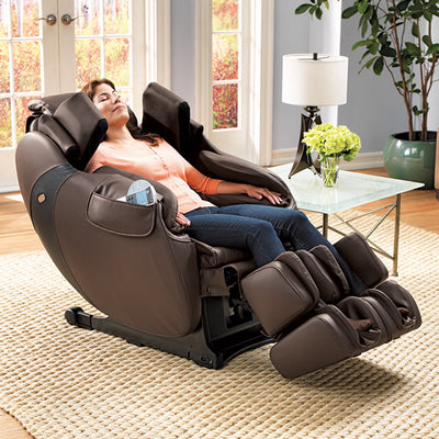 Women seated Flex 3S Massage Chair at home
