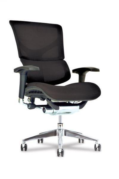 Basic Office Setup with X3 Management Task Chair