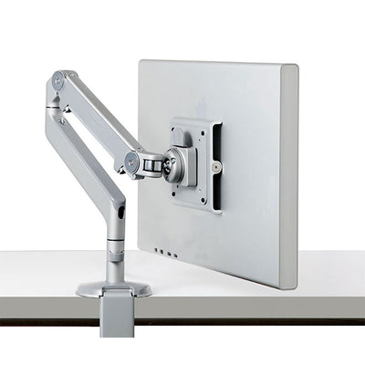 Side closeup view product image of the Adjustable Monitor Arm extended