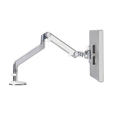 Side view product image of the Adjustable Monitor Arm extended