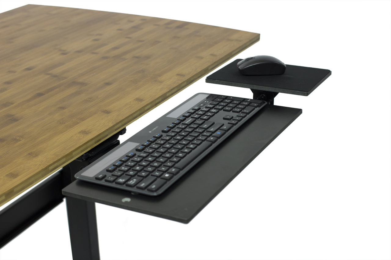 keyboard tray adjustable below desk ergonomic relax the back. Black Bedroom Furniture Sets. Home Design Ideas