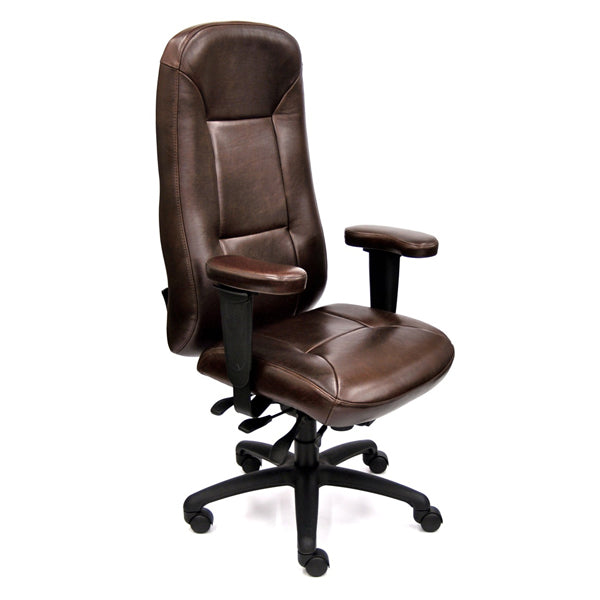Lifeform Traditional Leather Executive Chair