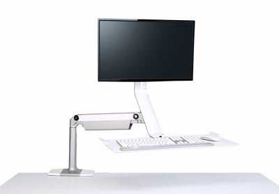 Front view product image of the QuickStand Lite Workstation
