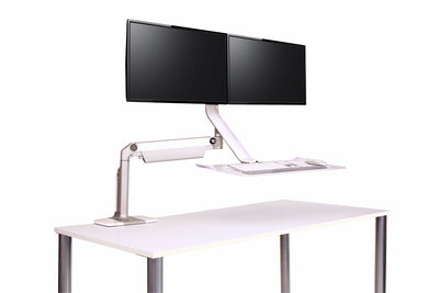 Front angled view product image of the QuickStand Lite Workstation
