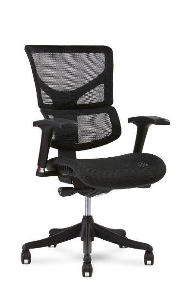 Basic Office Setup with X1 Flex Mesh Task Chair