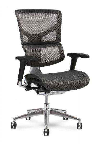 Basic Office Setup with X2 Executive Mesh Task Chair