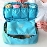 Aeoss Travel Bag Suitcase Women Cosmetic Organizer for Lingerie Makeup Luggage Do not Miss Underwear Bra