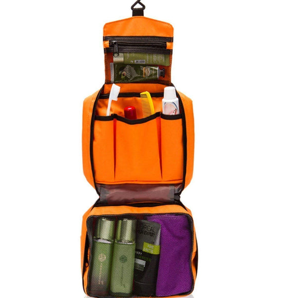 TOTAM Orange Toiletry Bag For every day use