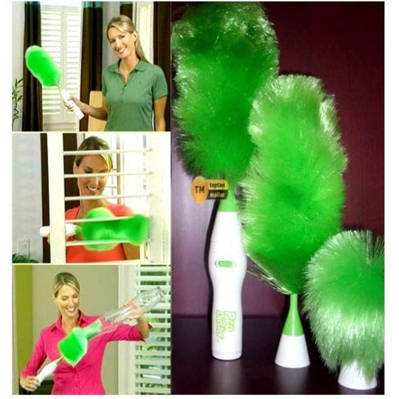ELECTRIC ROTATING GO DUSTER AND CLEANER