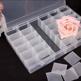 Adjustable Multipurpose Plastic Storage Box for Jewelry Medicine Pills Organiser