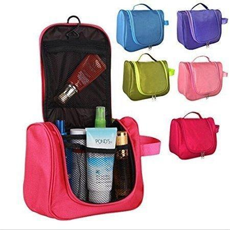 Compact 2 Way Cosmetic Makeup Travel and Portable Toiletry Organiser Storage Bag