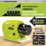 3 in 1 Electronic Sharpener For Knife , Scissor etc