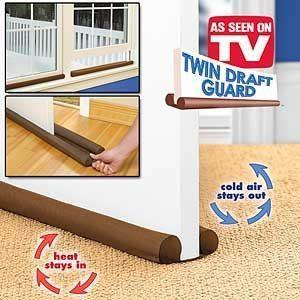 TWIN DRAFT - SEALED YOUR HOUSE , NOISE-FREE GATES