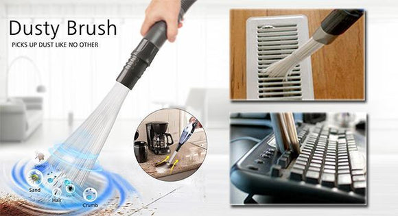 Mini Vacuum Cleaner Cum Duster For Home/Car/Office/Computers