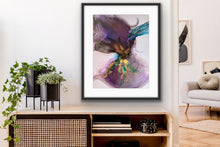 Load image into Gallery viewer, Poster print 'Flower Nebula!
