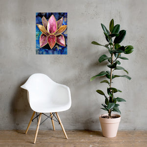 Poster print 'lotus' - Aesthetic Alchemy Art