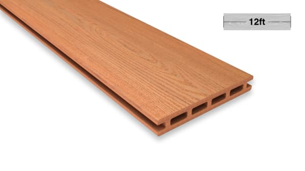 12.1 Ft Cedar Color Decking Board