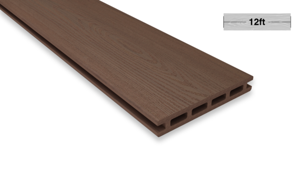 12.1 Ft Chestnut Color Decking Board