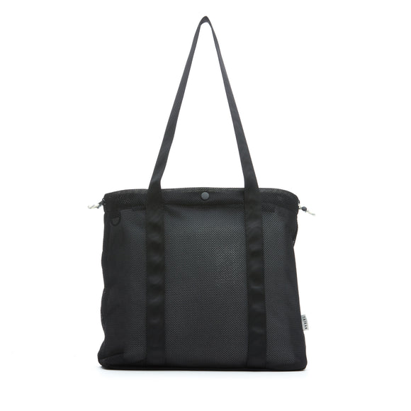 Taikan Flanker Tote Black Mesh outlnd Canada