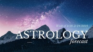 Astrological Forecast for the Week of 2/18-Sacred Jewels Cosmetics
