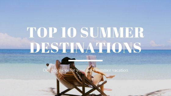 Our Top 10 Summer Beachscapades