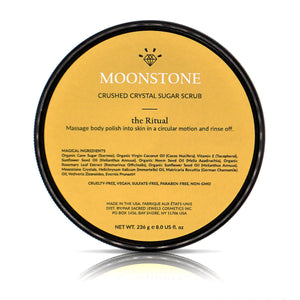 Moonstone Sugar Scrub-Sugar Scrub-Sacred Jewels Cosmetics