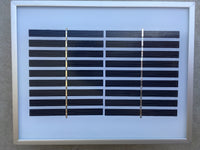 1.6w solar panel with battery backup